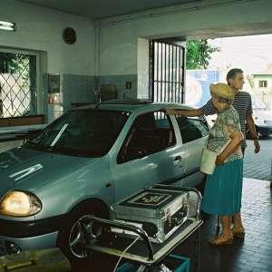 Zdjęcie odbioru auta po naprawie szyby